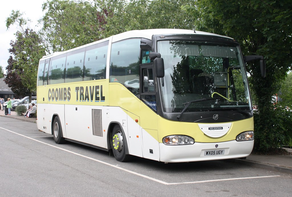 by tulipdave Coombs Travel - Weston Super Mare WX05UGY in Gordano services. | by tulipdave