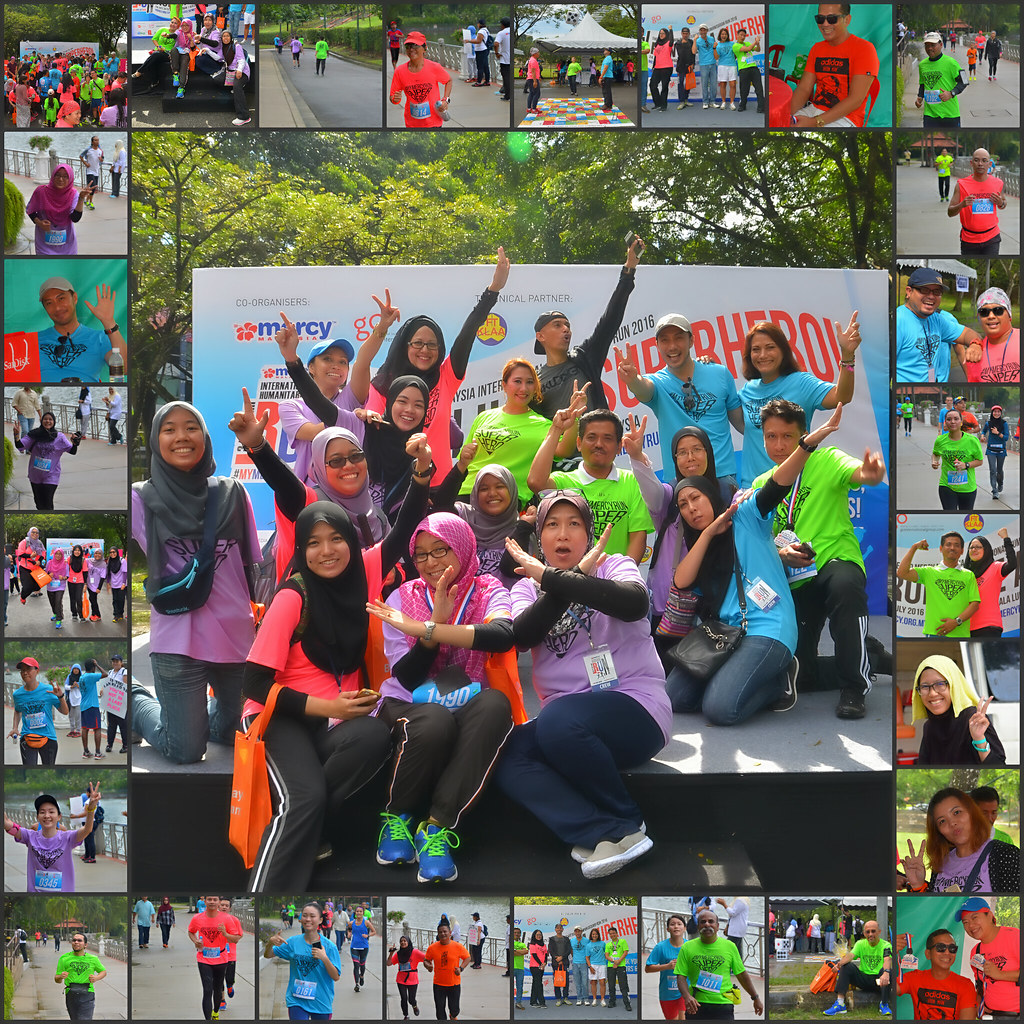 "#MYMERCYRUN 2016 - ""Run Like A Superhero !"" Part 1 & 2"