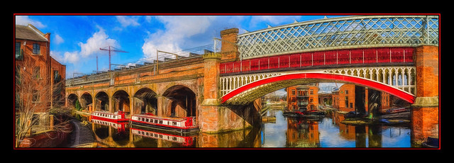 Bridge & Barges