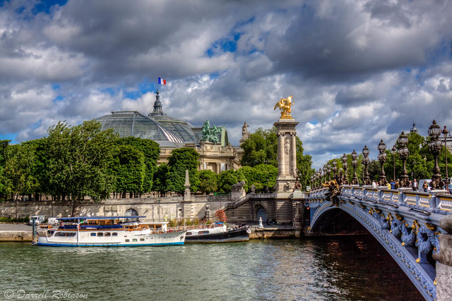 Grand Palais and Pont Alexandre III
