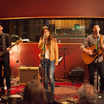 Thu, 12/03/2015 - 8:12pm - Brandi Carlile, Phil and Tim Hanseroth and the band, Electric Lady Studios session, NYC. Hosted by Rita Houston. Photo by Gus Philippas.