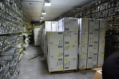 Retrograded ice cores from the 2014-15 field season safely inside the National Ice Core Laboratory | by U.S. Ice Drilling