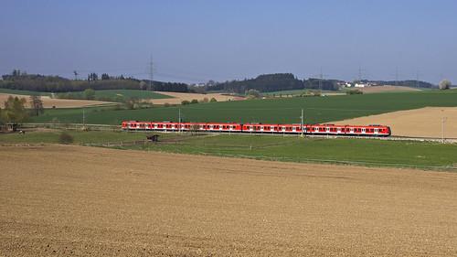 munich münchen db 423 sbahn bahn et423 sbahnmünchen baureihe423 dbbahn linies2 423183 423127
