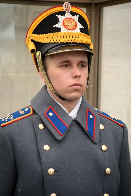 Guard, Kremlin, Moscow