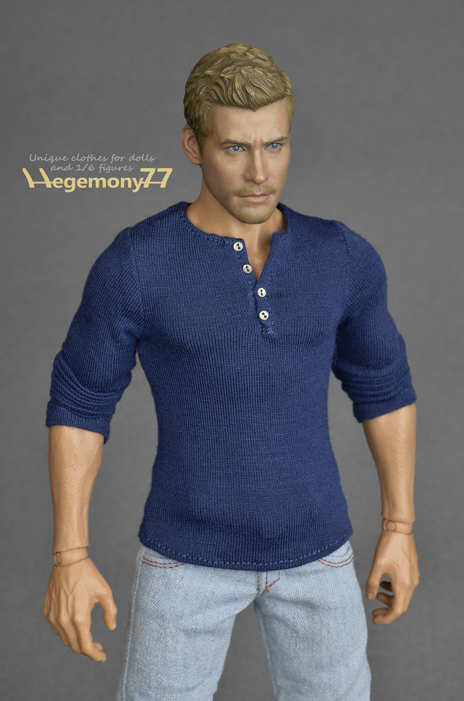 Sixth Scale Henley Shirt Inspired By Uncharted 4 A Thie Flickr