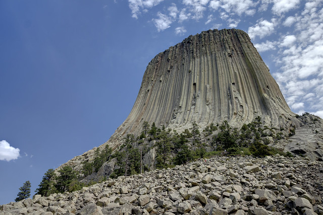 Devils Tower, Devils Tower National Monument, Crook County, Wyoming 1