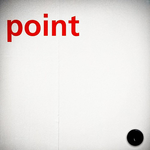 This is a point #point #dot #red #fieramilano #salonedelmobile #isaloni #minimal #instadaily #Circle #dot | by Mario De Carli