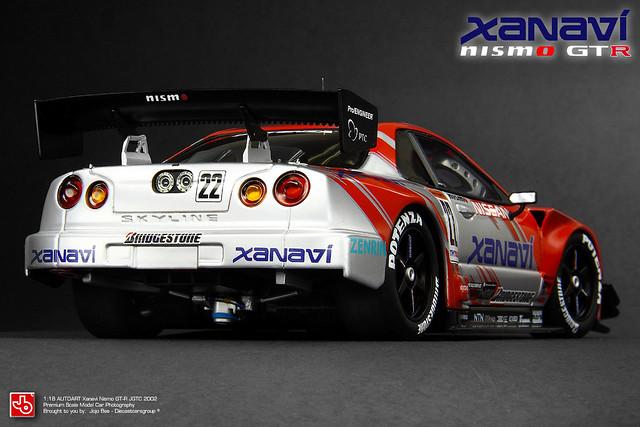 Xanavi Nismo Skyline GT-R (R34) 2002 JGTC