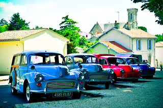 Morris Minors at Chateau Apremont | by -M a r t i n-
