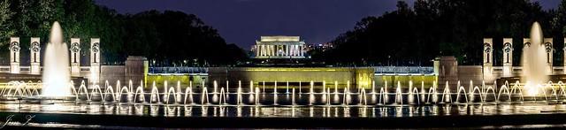 The night view of Washington DC 02