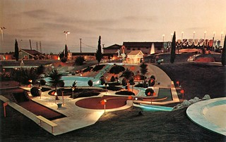 Southern Hills Miniature Golf Course, 12611 Beach Blvd., Stanton   by Orange County Archives