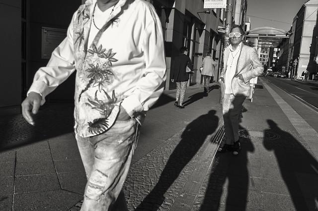 Twins. Monbijouplatz - Berlin, apr 2015