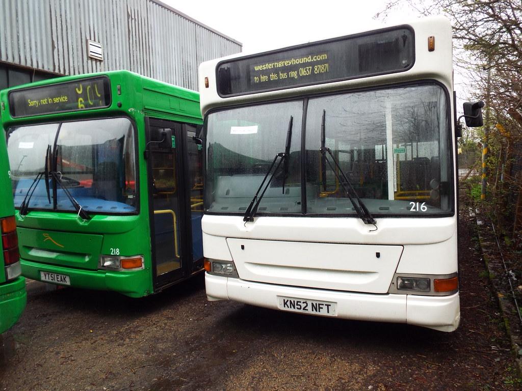 216 & 218 - First Kernow (Devon & Cornwall) Penzance April 2015