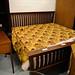 6ft solid wood bedframe