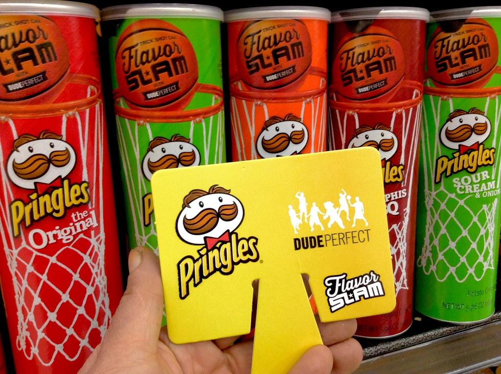 Pringles Flavor Slam Basketball Backboards   Pringles Flavor