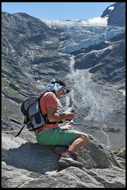 The Trift Glacier. Fix You No.DSC_1004 .