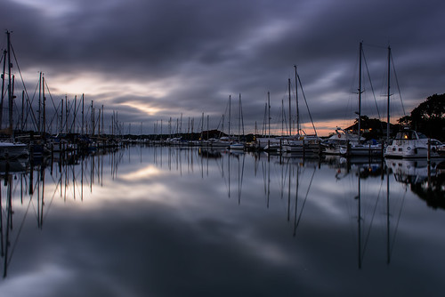 moodybirdhampool sunset birdhampool westsussex chichesterharbour southcoast uk marina boats yachts clouds reflections afterglow filter lee nd grad nikon d810 2470mm peaceful quite masts august 2016 sunsetsnapper