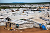 The UN protection of civilians site in Juba now accommodates 35 000 people, 7 000 of whom have arrived following the clashes in July.  © UNICEF/Albert González Farran
