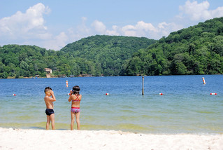 Kids on the beach at Claytor Lake State Park | by vastateparksstaff