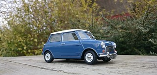 Mini Cooper 1966 Island Blue | by www.MODELCARWORKSHOP.nl