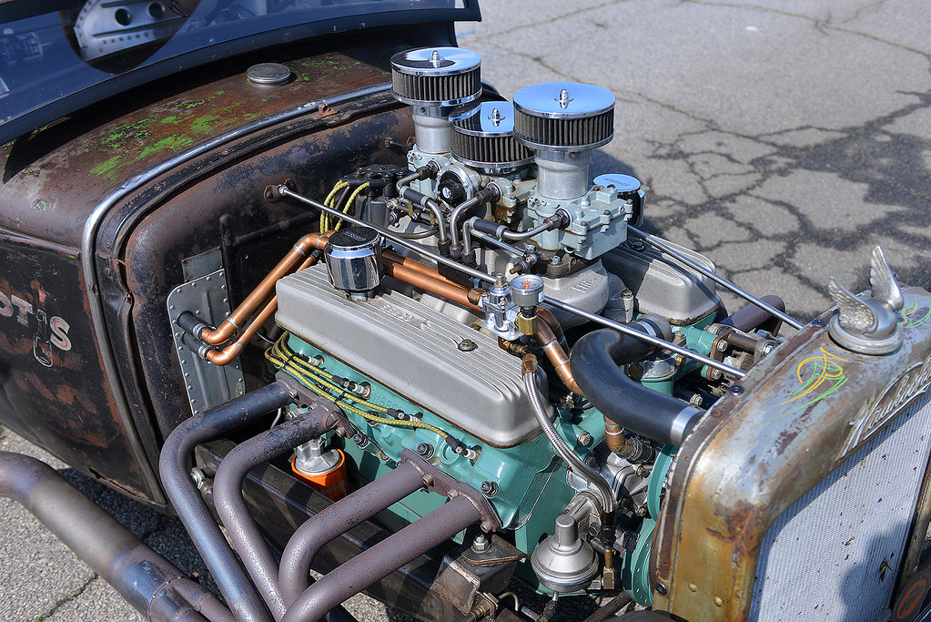 Buick Nailhead V8 in a rod   At the 2015 Gear Jam nostalgia …   Flickr