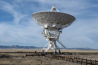 At the Very Large Array:  Solo Dish, Color | by JoeInSouthernCA