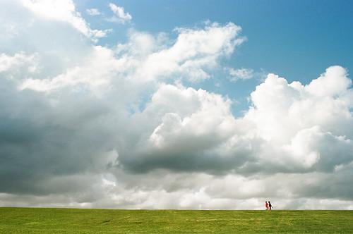 film clouds analog analógica oldsanjuan puertorico explore nubes analogue viejosanjuan elmorro fm2 nikonfm2n kodakportra160 nikkor28mmf28ais