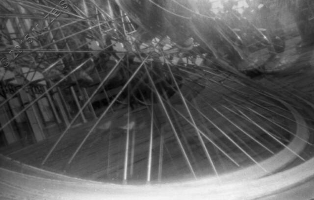 Stomped bike wheel double 690 wm