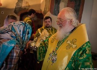Литургия в храме Сергия Радонежского 230