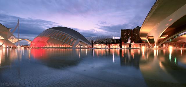 Ciudad de las Artes y las Ciencias - València, Spain