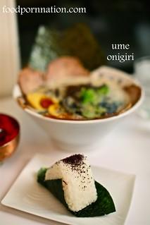 Ume onigiri, Kanadaya, Tottenham Court Road   by Priscilla @ Food Porn Nation