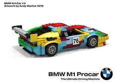 BMW M1 Procar Racer - BMW Art Car #4, Andy Warhol - 1979