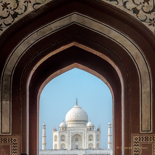 Taj Mahal: A new perspective (picture #1) | by Sharad Medhavi