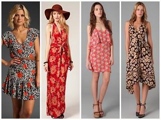 Ha nyár, akkor csinos és lenge nyári ruhák - jó hír pedig, hogy nálunk az anyagot is megtaláljátok hozzájuk! :)
