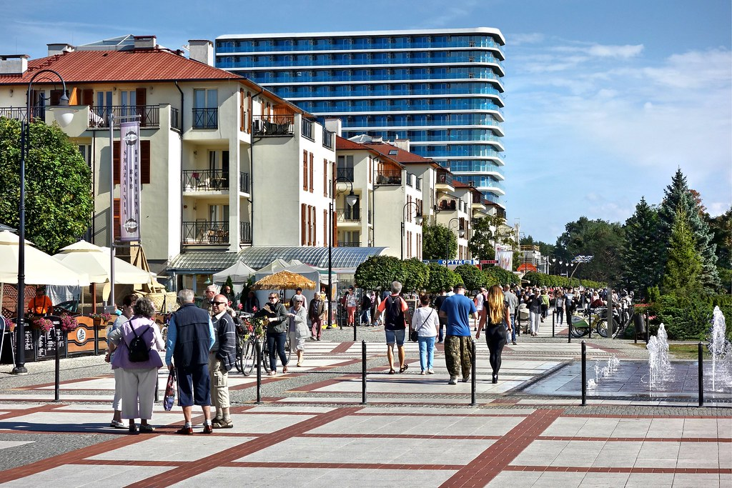 livecam swinemünde promenade