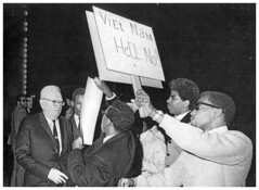 Howard Students Confront Draft Director in Viet Protest: 1967