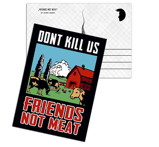 Friends Not Meat A25