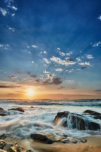 morning seascape beach sunrise landscape southafrica rocks waves indianocean durban kwazulunatal umhlangarocks umhlanga canon24105f4 canon5dmk3 hitechreversendgrad markmullenphotography