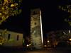 Molveno, noční nálada u kostela, foto: Petr Nejedlý