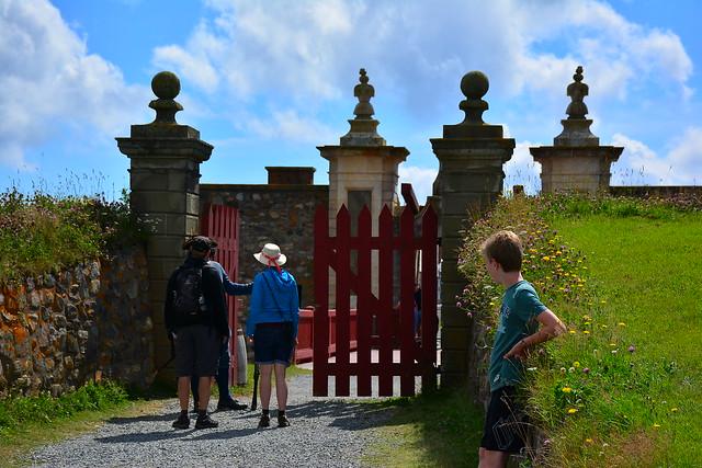 Through the Gate at Louisbourg