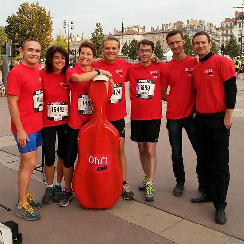 Un défi : 10km pour cette boite de violoncelle