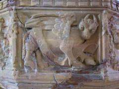 font: St Luke's winged bull