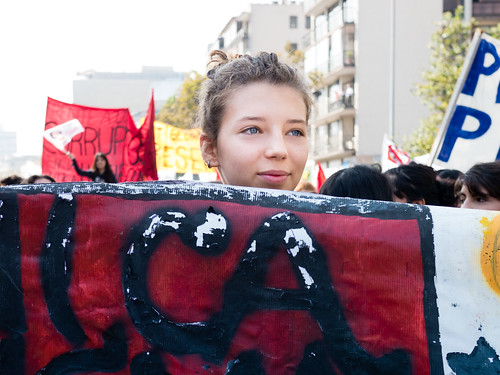 CL Society 430: Chilean student protest | by francisco_osorio