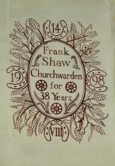 14 VIII 1998 - Fran Shaw, Churchwarden for 38 years