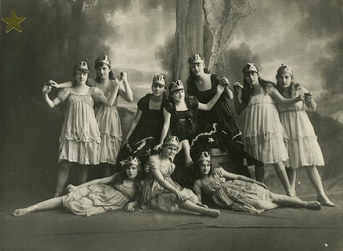 Students of Margaret St. Ledger performing The Dance of the Hours, ca. 1916 | by State Library of Queensland, Australia