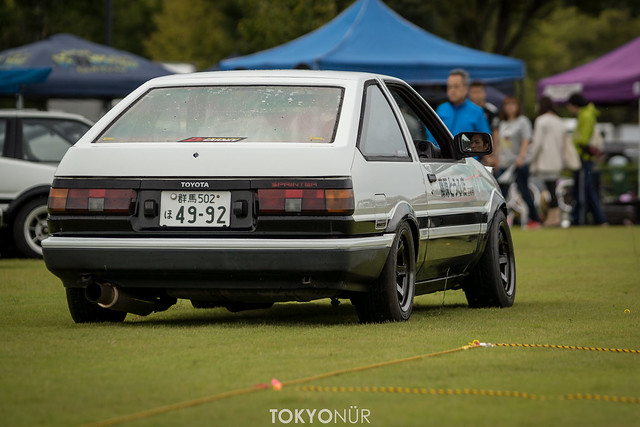 Like The Pebble Beach Concours [Toyota Hachi Roku Meet 2016 at Ora Tower]