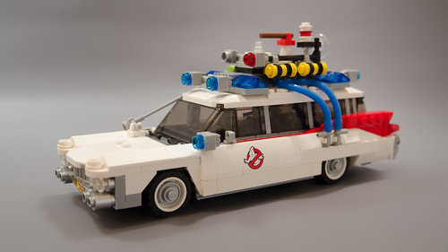 Lego Ghostbusters Ecto-1 Light Mod 01 | by M600