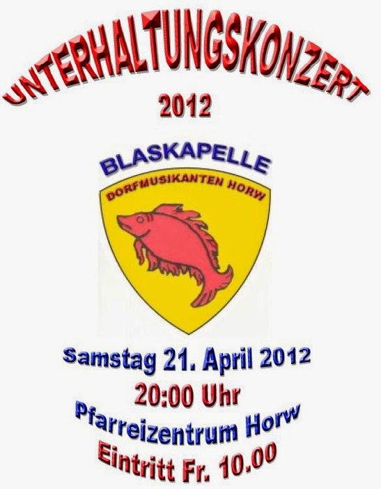 Unterhaltungskonzert 21.04.2012