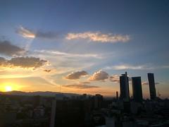 Cielo de una noche de verano #sunset #Reforma #mexico #city #urban #Skyline #building