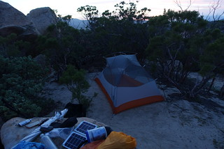 PCT Day 8 campsite | by danlmarmot
